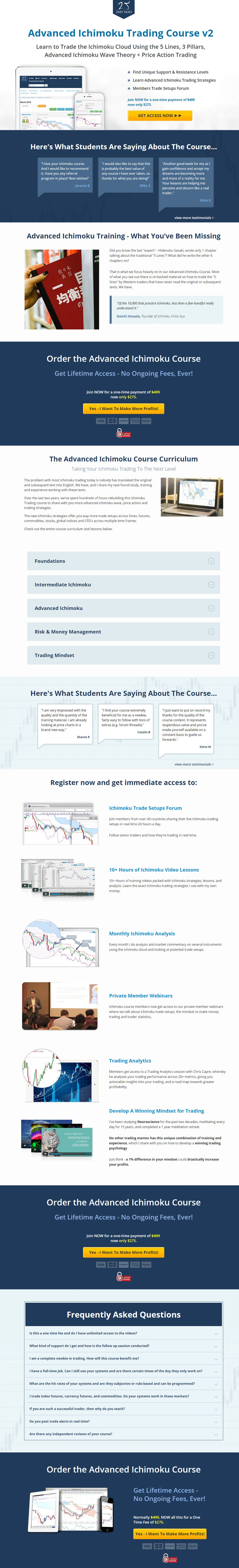 Advanced Ichimoku Trading Course V2 by 2nd Skies (2019)