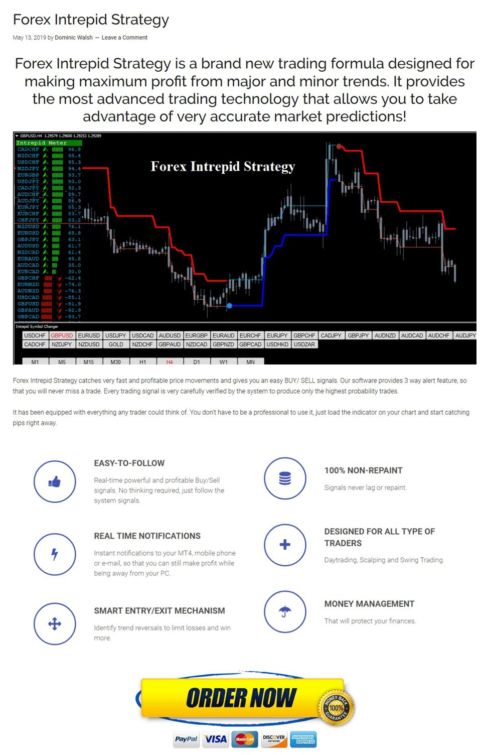 forex trading intrepid