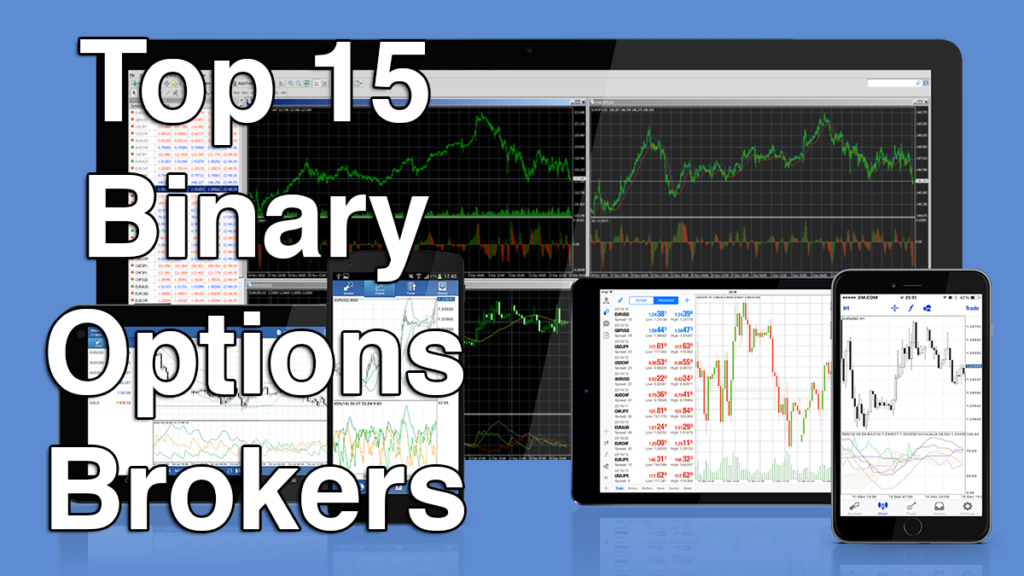 15 popular binary options brokers
