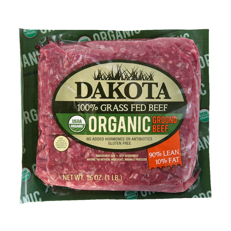 Organic 90/10 Ground Beef (8 - 1lb packages)