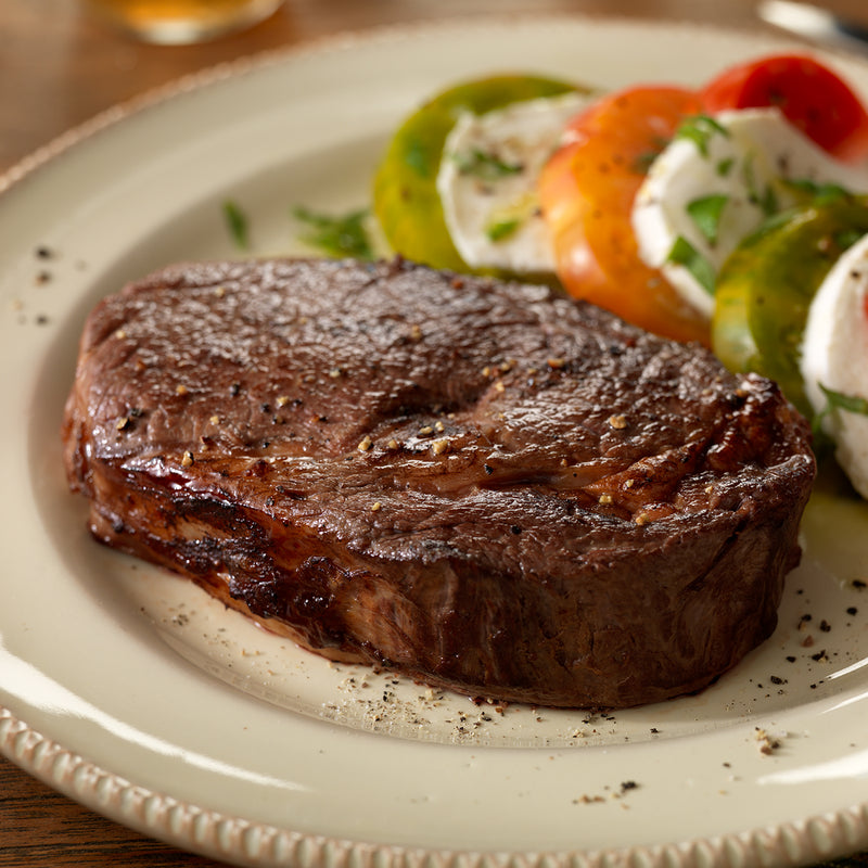 Organic Ribeye Steak (4 - 10oz steaks per case)