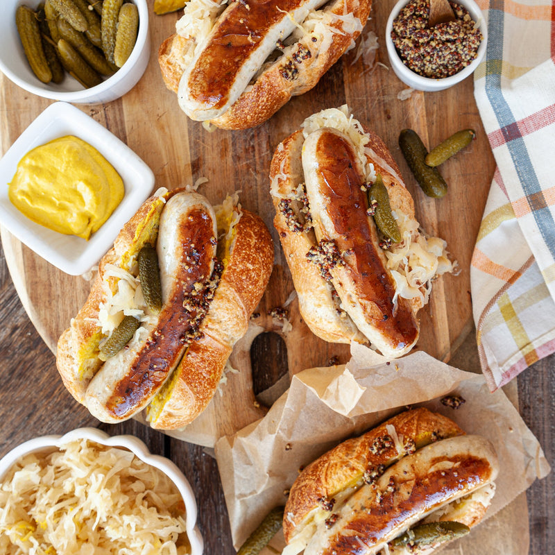 Traditional Pork Bratwurst (12 - 1lb packages)