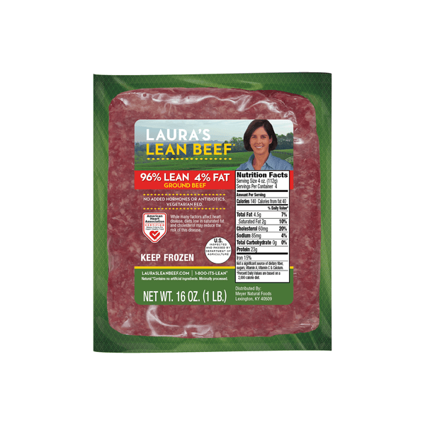 96% Lean Ground Beef (8 - 1lb packages)