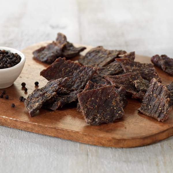 Peppered Beef Jerky (8 - 2.5oz packages)