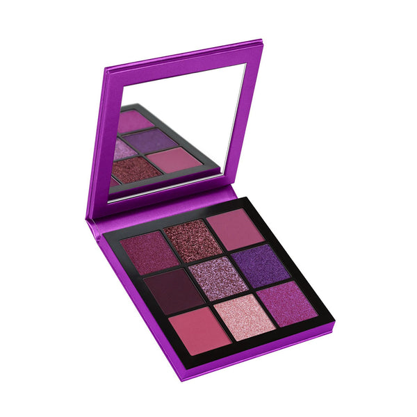 9Pcs mini diamond Palette Classic Lady Makeup kit high Quality-Purple Alhamra ALHAMRA