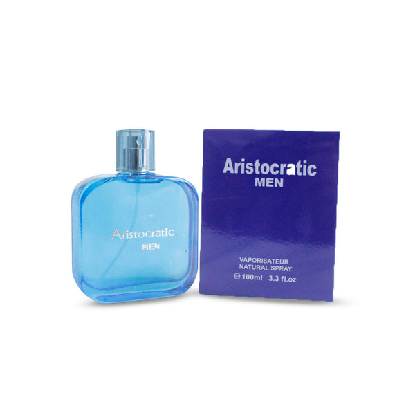 Pure Perfume without Gas for Gentleman Vaporisateur Natural Perfume Spray Aristocrat MEN-Blue 2436 Alhamra ALHAMRA