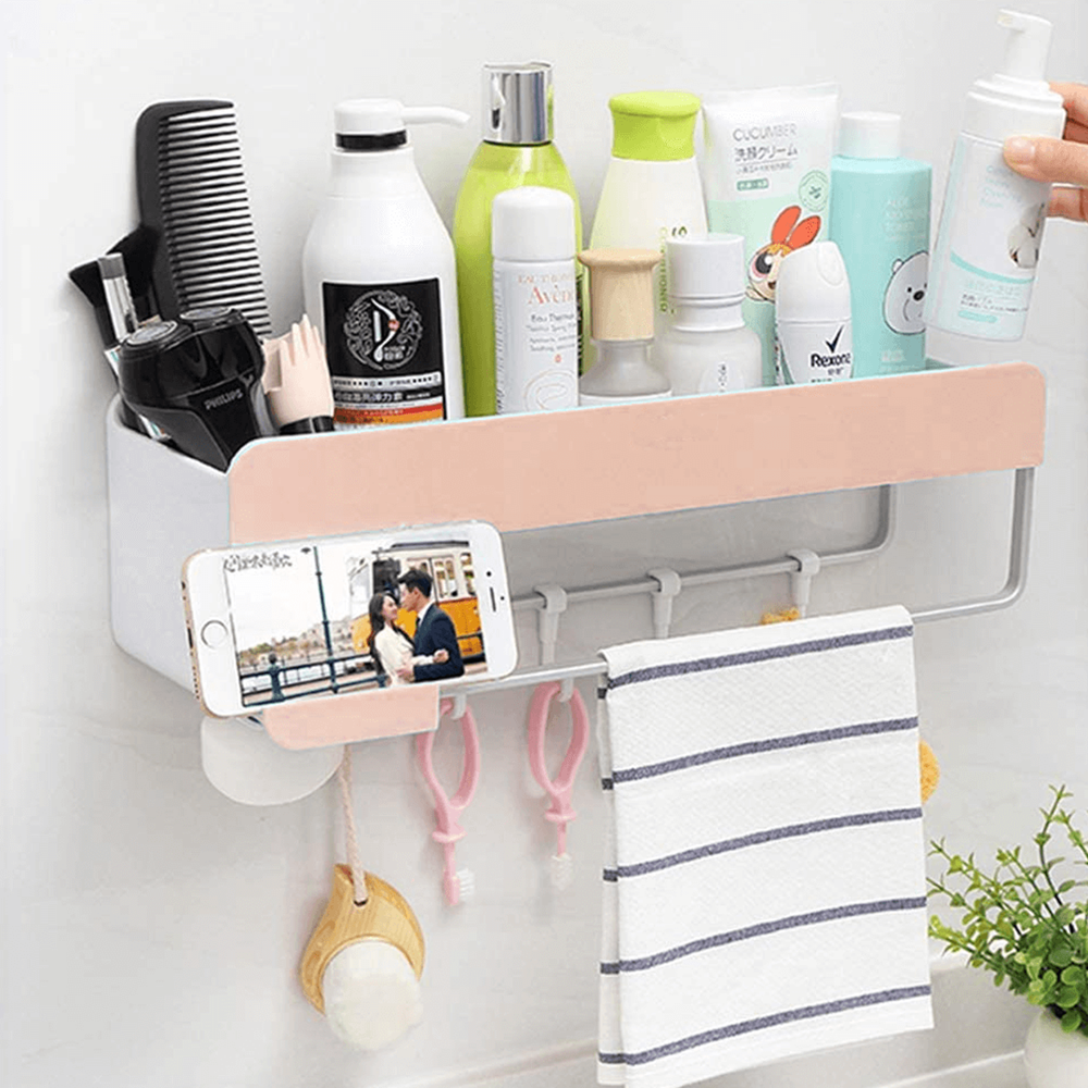 Multipurpose Bathroom and Kitchen Organizer Rack