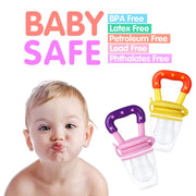 Kids Baby Fruit Feeder Pacifier Choosni with Nipple - Multicolor