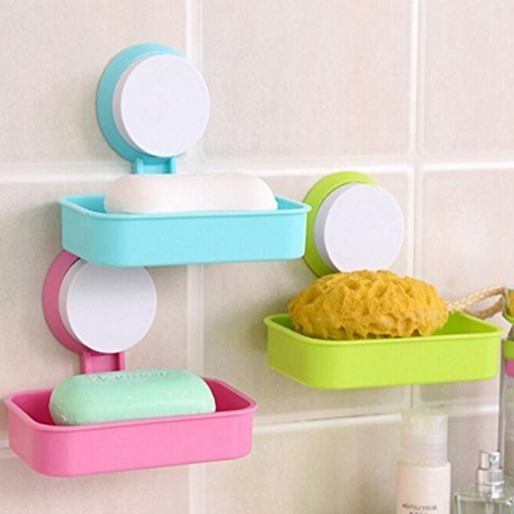 Single Layer Wall Hanging Soap Box Tray Dish