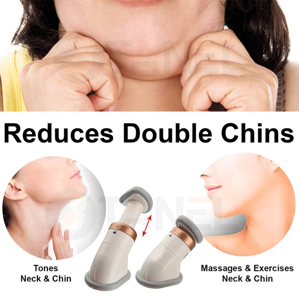 Neckline Slimmer & Toning Massager System, Double Chin Remover