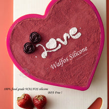 Load image into Gallery viewer, Heart Shape Cake Mould with Glass Base