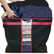 Foldable Non Woven Fabric Cloth Blanket Organizer bag