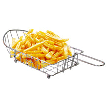 Load image into Gallery viewer, Stainless Steel French Fries Serving Dish and Fryer