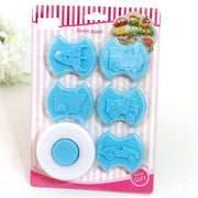 6 Pcs Cookie Mould