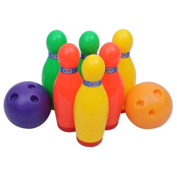 Deluxe Bowling Set Toy For Kids - 6 Pins & 2 Balls - 5022