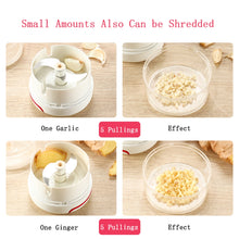 Load image into Gallery viewer, Mini Food Garlic Vegetable Grinder Chopper Mincer Crusher