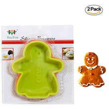 Load image into Gallery viewer, Pack of 2 - Silicone Bake Cookie Man