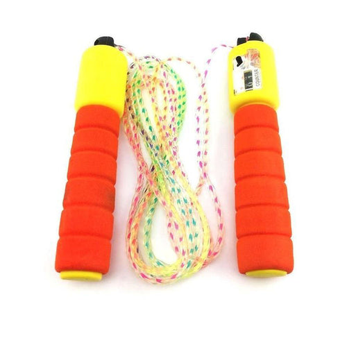 Adjustable Jump Rope With Counter-Plastic-Alhamra-8023-C-ALHAMRA