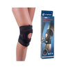 Cart Knee Support-Black-Fabric-Alhamra-8018-BB-ALHAMRA
