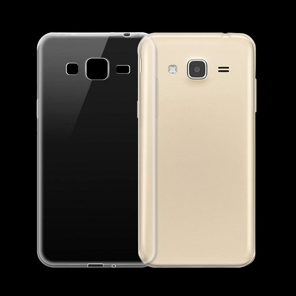 Samsung Galaxy J3 (2016) Transparent Jelly Back Cover ALHAMRA ALHAMRA