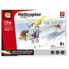 Totally Cool Toys Educational Helicopter DIY Kit (117 pcs)-Plastic-Alhamra-117-C-ALHAMRA