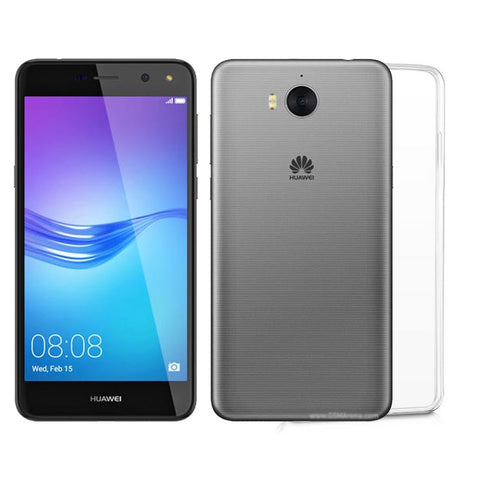 Huawei Y5 (2017) / Huawei Y5 III / Huawei Y5 3 Transparent Jelly Back Cover Alhamra ALHAMRA