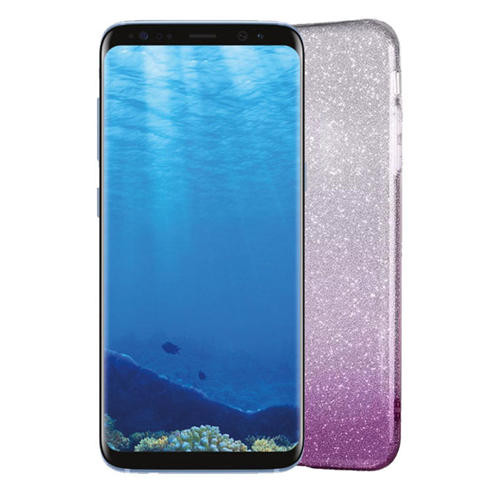 Gradient Dreamy Stars Shine Jelly Fancy Back Cover for Samsung Galaxy S8 Alhamra ALHAMRA
