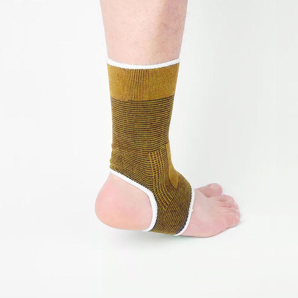 Pack of 2 - Ankle Support - Beige-Fabric-Alhamra-8360-ALHAMRA