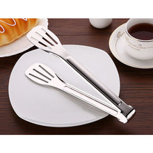 Load image into Gallery viewer, Stainless Steel Food Tongs-Stainless Steel-Alhamra-7012-ALHAMRA