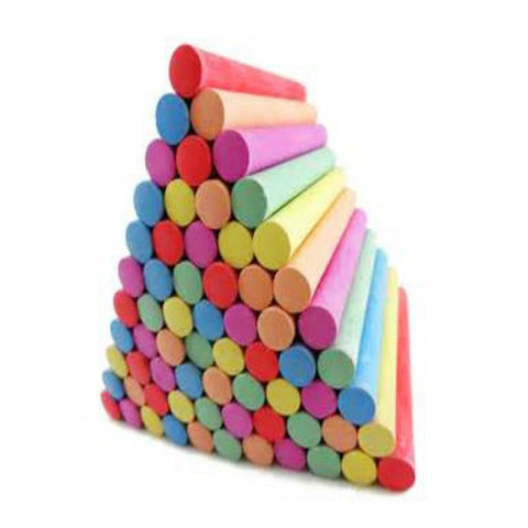 Pack of 50 - Colorful Board Chalk-Mixed-Alhamra-4022-ALHAMRA
