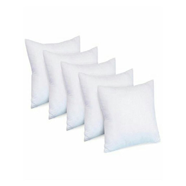 Pack of 5 - Polyester Cushion - White Alhamra ALHAMRA