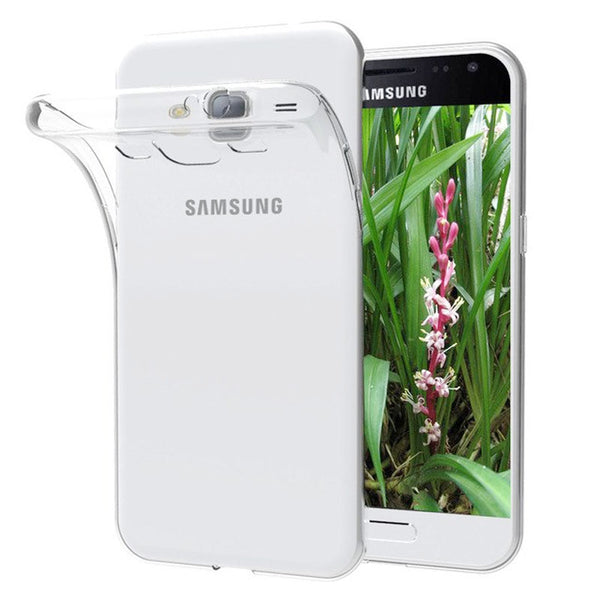 Samsung Galaxy J1 (2016) Transparent Jelly Back Cover