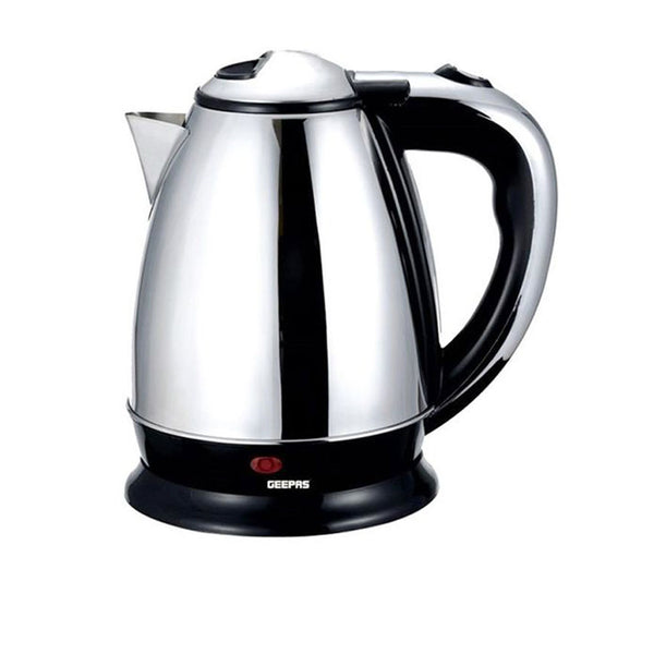 Electric Kettle - Black-Stainless Steel-Alhamra-7038-ALHAMRA