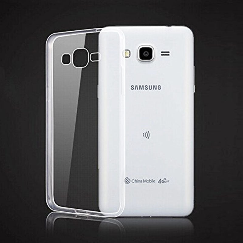 Samsung Galaxy Core Prime Transparent Jelly Back Cover - Cover Alhamra ALHAMRA