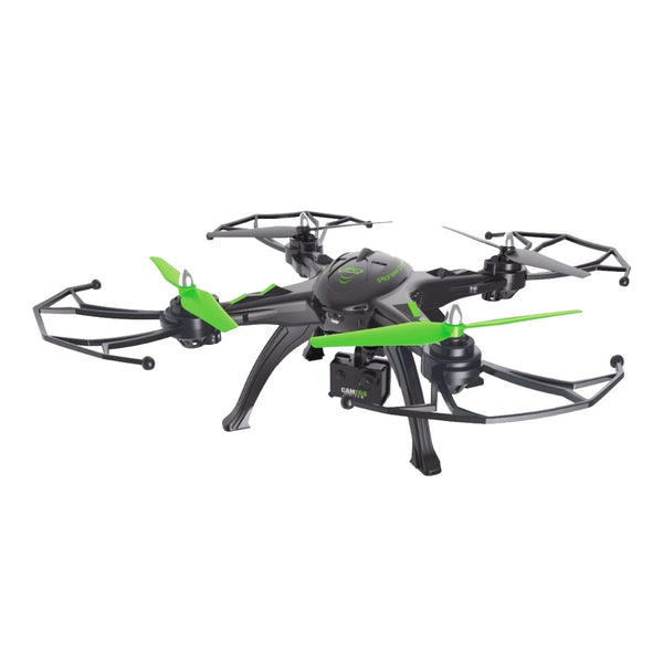 6 Axis HD Aerial Quadcopter Drone with WIFI & Mobile connectivity -Black & Green-Plastic-ALHAMRA-092-LH-X14-WF-ALHAMRA