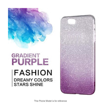 Load image into Gallery viewer, Gradient Dreamy Stars Shine Jelly Fancy Back Cover for iPhoneX Alhamra ALHAMRA