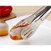 Stainless Steel Food Tongs-Stainless Steel-Alhamra-7012-ALHAMRA