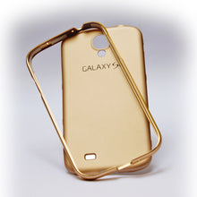 Load image into Gallery viewer, Mat Shine Golden Back Cover for Samsung S4 Alhamra ALHAMRA