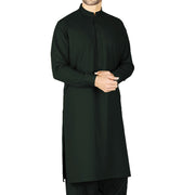 Unstiched Wash & Wear Gents Shalwar Kameez Fabric - Bottom Green Alhamra ALHAMRA