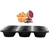 Tray of 12 Cupcakes - Baking Tray - Black-Mixed-Alhamra-7025-T-ALHAMRA