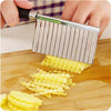 Potato Corrugated Manual Cutter for French Fries-Stainless Steel-Alhamra-7024-ALHAMRA