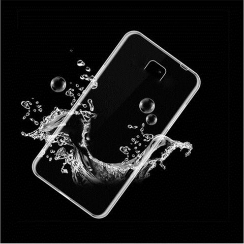 Samsung Galaxy J3 Transparent Jelly Back Cover