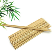Load image into Gallery viewer, Pack of 100 - BBQ Bamboo Sticks - Brown Alhamra ALHAMRA