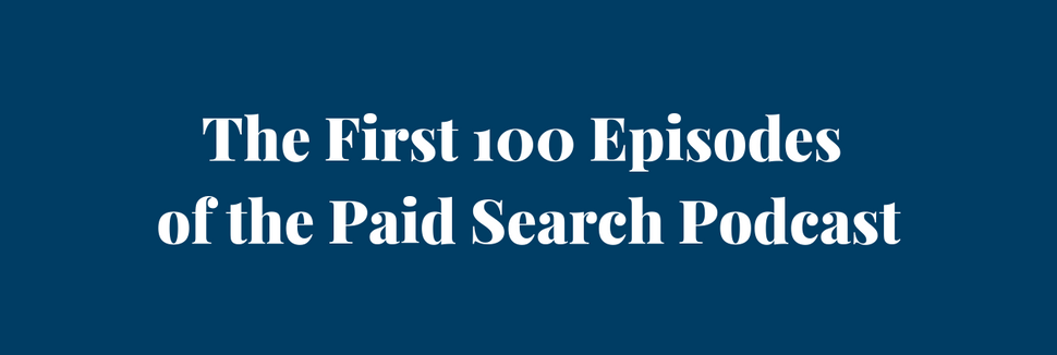 Paid Search Podcast