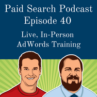 040: Live, In-Person AdWords Training