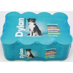 Dylan For Working Dogs Variety 12 Pack, 400g