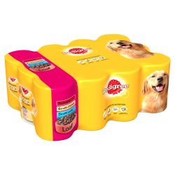 Pedigree Can in Loaf 12 Pack, 400G