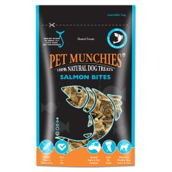 Pet Munchies 100% Natural Salmon Bites, 90G