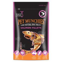Pet Munchies 100% Natural Salmon Fillets, 90G