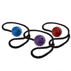 Classic Pimple Ball Rope  assorted colours, 50MM